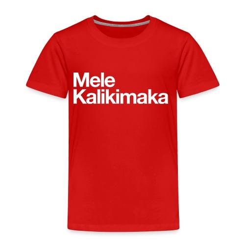 Mele Kalikimaka - Toddler Premium T-Shirt