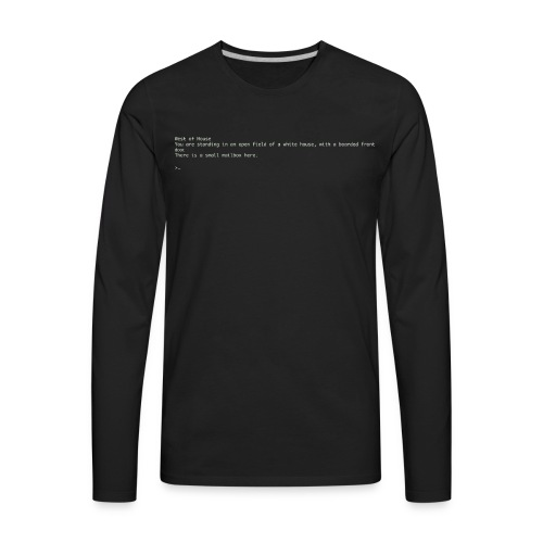 Zork The Beginning - Men's Premium Long Sleeve T-Shirt