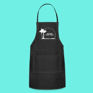 SDTF Logo-White T-Shirts - Adjustable Apron