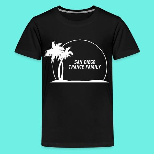 SDTF Logo-White T-Shirts - Kids' Premium T-Shirt