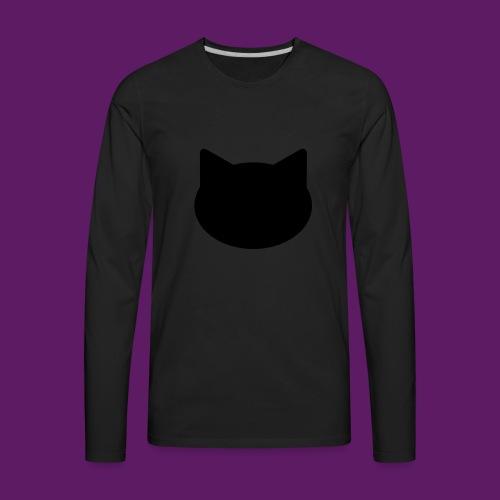 MightyCat Hat - Men's Premium Long Sleeve T-Shirt