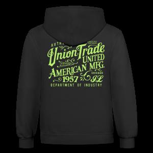 Union Trade Mfg.-Black - Contrast Hoodie