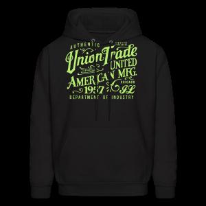 Union Trade Mfg.-Black - Men's Hoodie