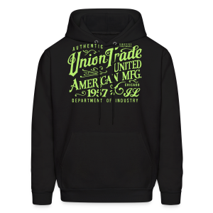 Union Trade Mfg.-Black - Men's Hoodie