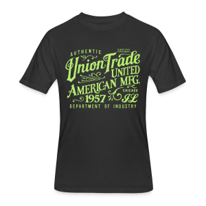 Union Trade Mfg.-Black - Men's 50/50 T-Shirt