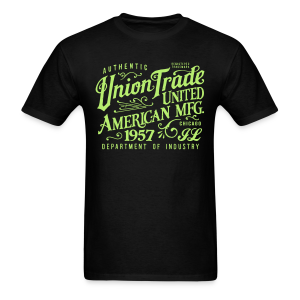 Union Trade Mfg.-Black - Men's T-Shirt