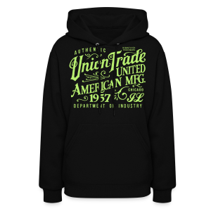 Union Trade Mfg.-Black - Women's Hoodie