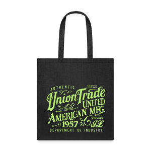 Union Trade Mfg.-Black - Tote Bag