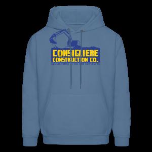Consigliere Construction Co-Lt Blue - Men's Hoodie