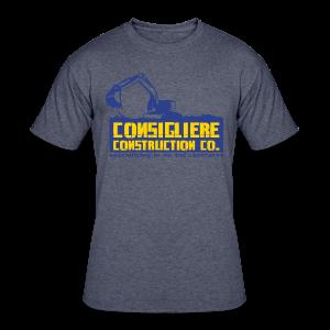 Consigliere Construction Co-Lt Blue - Men's 50/50 T-Shirt