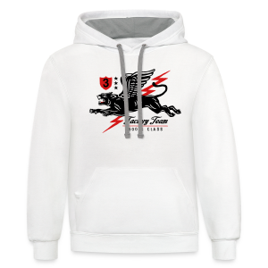 Winged Panther - Contrast Hoodie