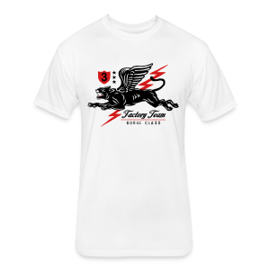 Winged Panther - Fitted Cotton/Poly T-Shirt by Next Level
