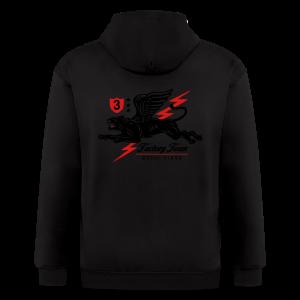 Winged Panther - Men's Zip Hoodie