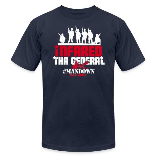 #ManDown Hoodie - Men's  Jersey T-Shirt