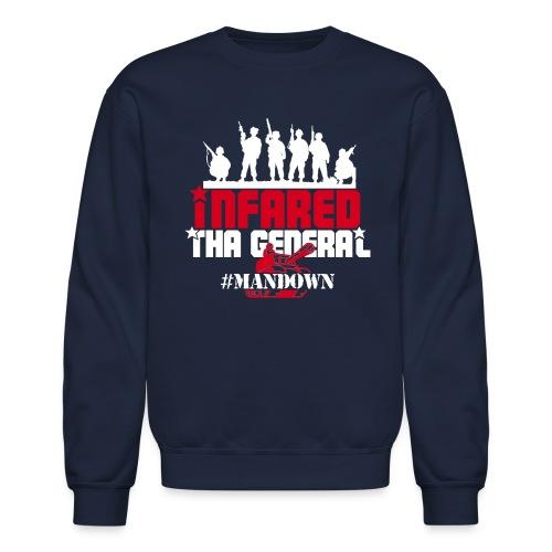 #ManDown Hoodie - Crewneck Sweatshirt