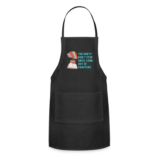 Party Don't Stop Black Women's Hoodie  - Adjustable Apron