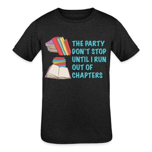 Party Don't Stop Black Women's Hoodie  - Kids' Tri-Blend T-Shirt