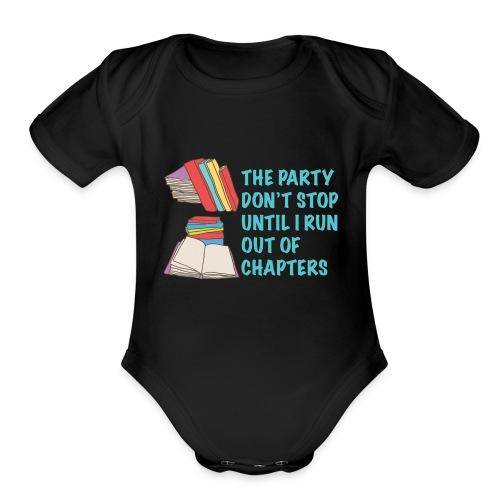 Party Don't Stop Black Women's Hoodie  - Organic Short Sleeve Baby Bodysuit