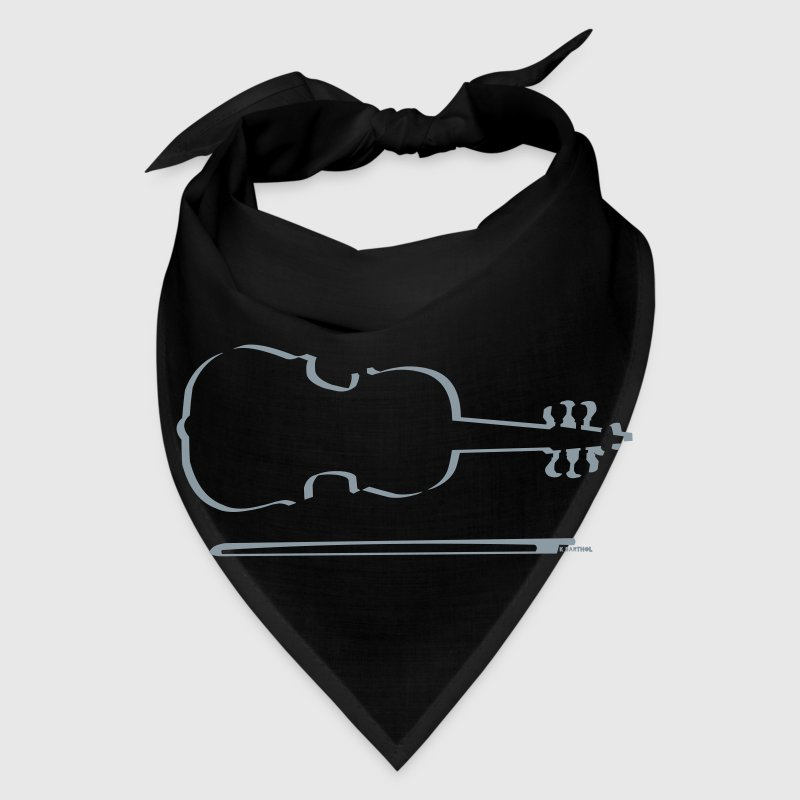 Violin Outline Caps - Bandana