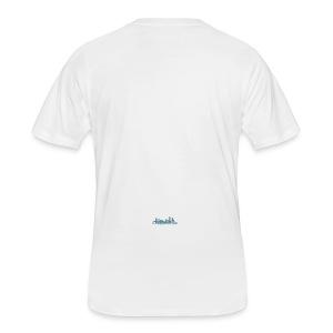 Charlotte, North Carolina Skyline Cup - Men's 50/50 T-Shirt