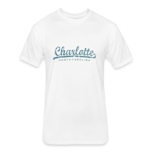 Charlotte, North Carolina Classic T-Shirt (Children/White) - Fitted Cotton/Poly T-Shirt by Next Level
