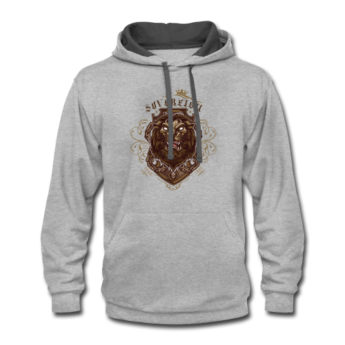 Sovereign Lion-color - Contrast Hoodie