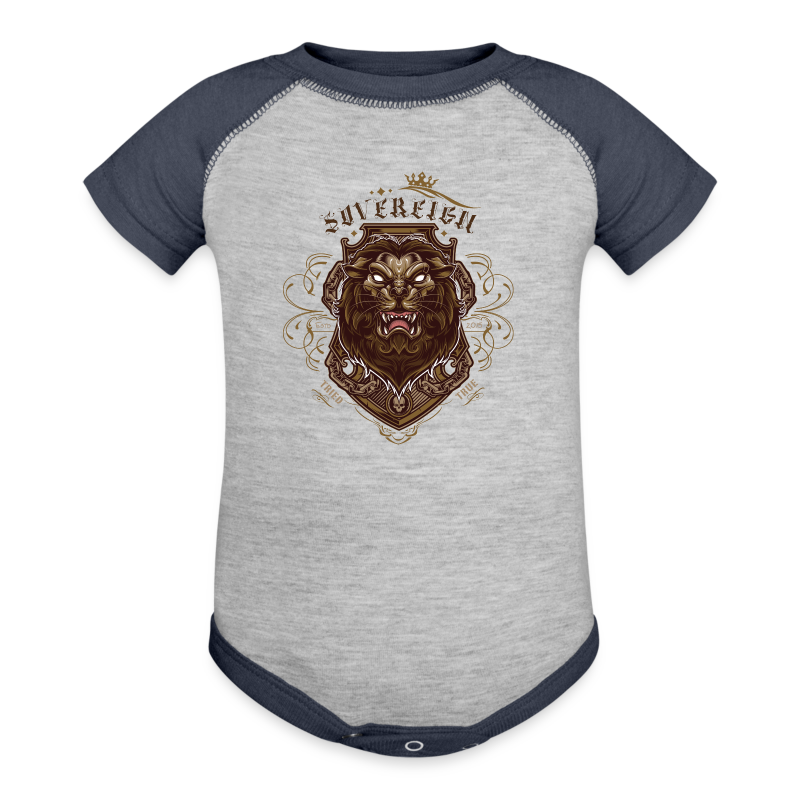 Sovereign Lion-color - Baby Contrast One Piece