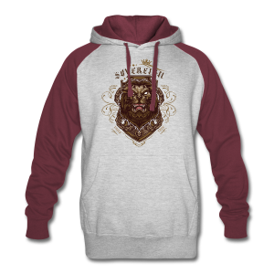 Sovereign Lion-color - Colorblock Hoodie
