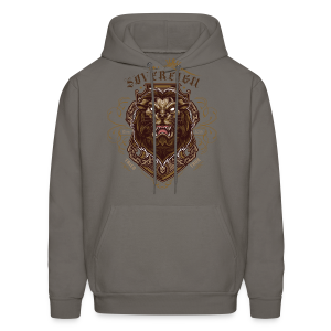 Sovereign Lion-color - Men's Hoodie