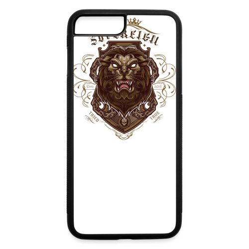 Sovereign Lion-color - iPhone 7 Plus/8 Plus Rubber Case