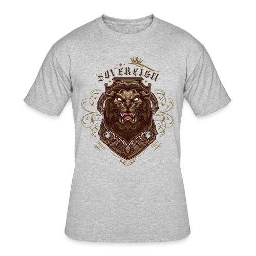 Sovereign Lion-color - Men's 50/50 T-Shirt