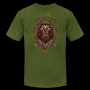 Sovereign Lion-color - Men's Fine Jersey T-Shirt