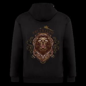 Sovereign Lion-color - Men's Zip Hoodie