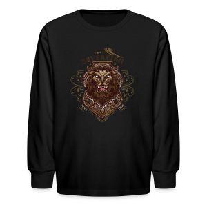 Sovereign Lion-color - Kids' Long Sleeve T-Shirt