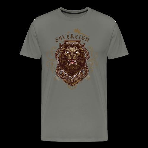 Sovereign Lion-color - Men's Premium T-Shirt
