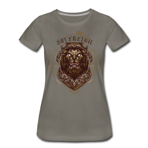 Sovereign Lion-color - Women's Premium T-Shirt