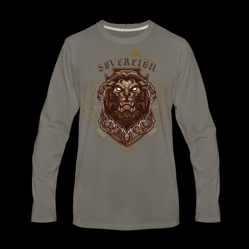 Sovereign Lion-color - Men's Premium Long Sleeve T-Shirt