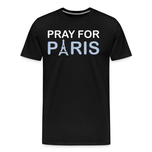 Pray For Paris - Men's Premium T-Shirt