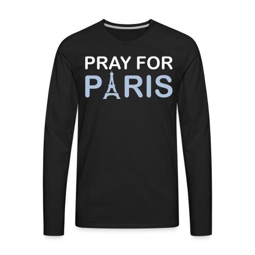 Pray For Paris - Men's Premium Long Sleeve T-Shirt