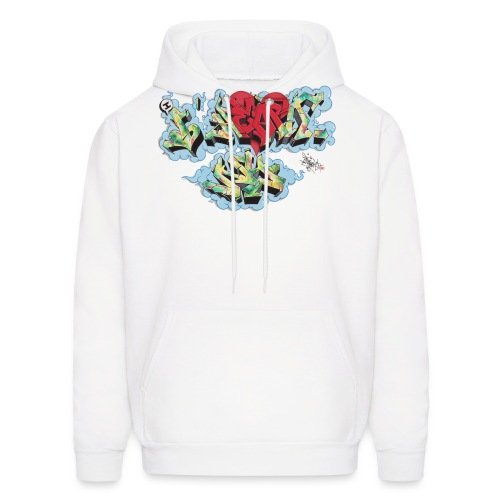 Nover - New York Graffiti Design - Men's Hoodie