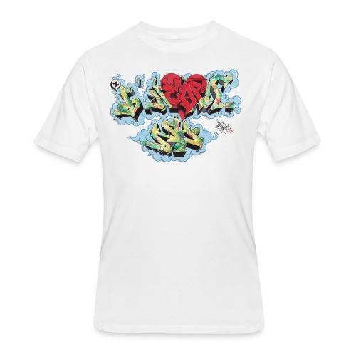 Nover - New York Graffiti Design - Men's 50/50 T-Shirt