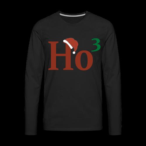 Ho cubed - Men's Premium Long Sleeve T-Shirt