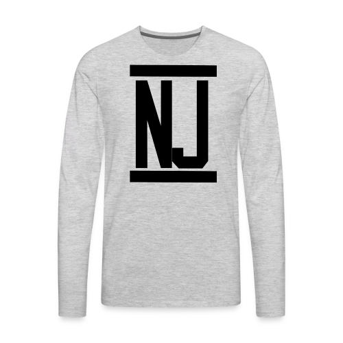 NJoy The Show Official Hoodie - Men's Premium Long Sleeve T-Shirt
