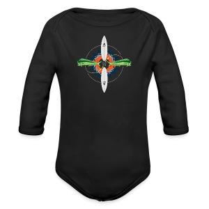 BLP Fishing - Long Sleeve Baby Bodysuit