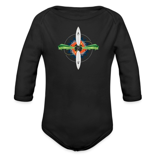 BLP Fishing - Organic Long Sleeve Baby Bodysuit