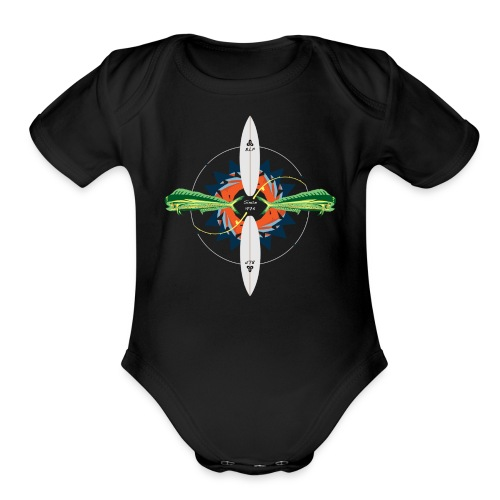 BLP Fishing - Organic Short Sleeve Baby Bodysuit