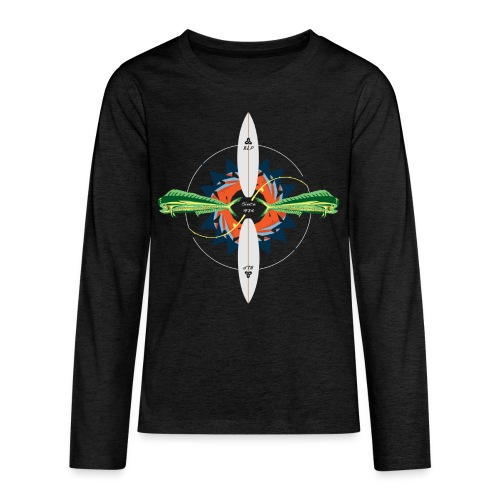 BLP Fishing - Kids' Premium Long Sleeve T-Shirt