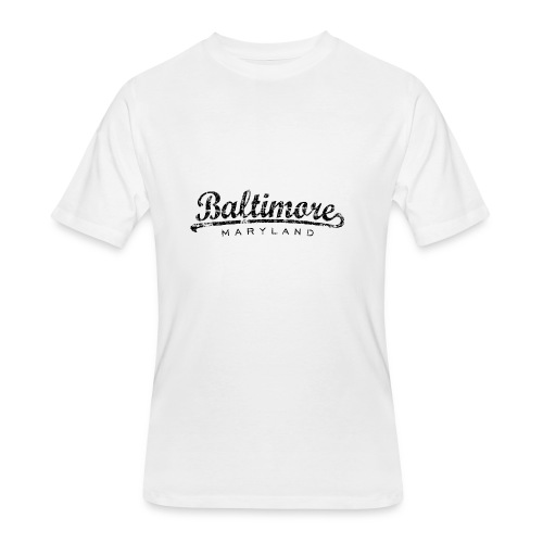 Baltimore,Maryland Tank Top (Women/White) - Men's 50/50 T-Shirt