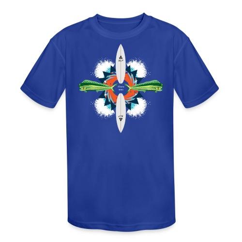 BLP Waves - Kid's Moisture Wicking Performance T-Shirt
