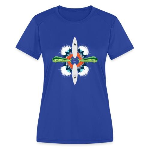 BLP Waves - Women's Moisture Wicking Performance T-Shirt